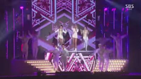 Watch: 2NE1 Perform 'Crush' Live At 'SBS Gayo Daejun 2014'