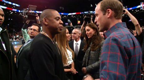 Watch: Beyonce & Jay Z Meet British Royals Prince William & Kate Middleton