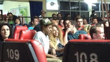 Hot Shots: Beyonce & Jay Z Spotted At Kickboxing Match In Thailand