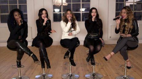 Watch: Fifth Harmony Belt 'Bo$$' Acoustically For 'Shazam'