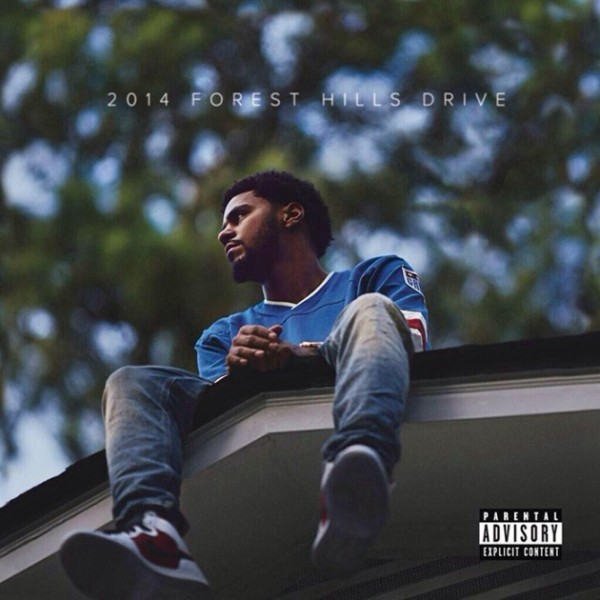 j cole 2014 forest hills drive thatgrapejuice 600x600 1 Chart Check: J. Coles 2014 Forest Hills Drive Opens With...