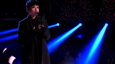Watch: Jennifer Hudson Wows With 'Hallelujah' At 'A Home For The Holidays'