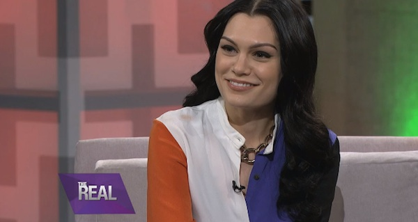jessie j the real thatgrapejuice Watch: Jessie J Visits The Real / Talks Relationship With Luke James, Schooling With Adele, & More