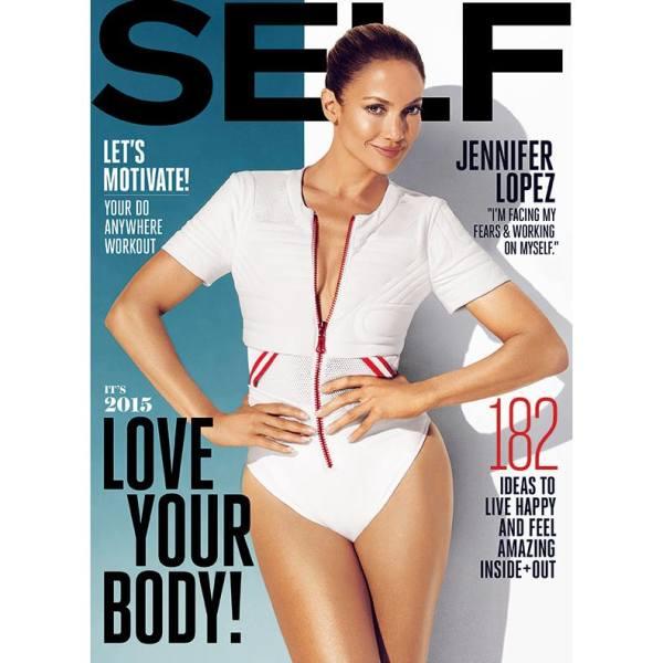 jlo self thatgrapejuice 600x600 Jennifer Lopez Stuns In Self Magazine