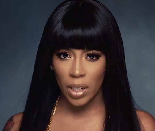 kmichelle that grape juice 2014 100000 K. Michelle Developing Cheaters Style TV Series