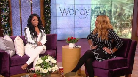 Watch: K. Michelle Visits 'Wendy' / Dishes On Idris Elba Relationship, Music, & More