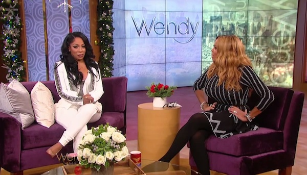 kmichelle wendy williams thatgrapejuice Watch: K. Michelle Visits Wendy / Dishes On Idris Elba Relationship, Music, & More