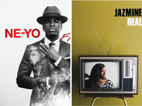ne yo jazmine sullivan thatgrapejuice Hot Shots:  Ne Yo & Jazmine Sullivan Reveal Respective Album Covers