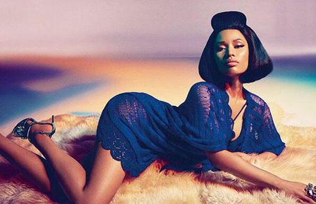 nicki minaj roberto cavalli that grape juice 2014 8000 Nicki Minaj Becomes The Face Of Roberto Cavalli