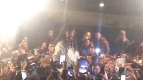 Hot Shots: Rihanna Shoots New Music Video In Paris