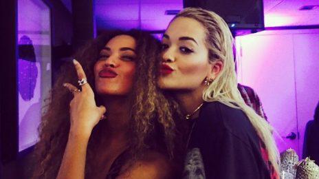 Hot Shot: Rita Ora Beams With Beyonce