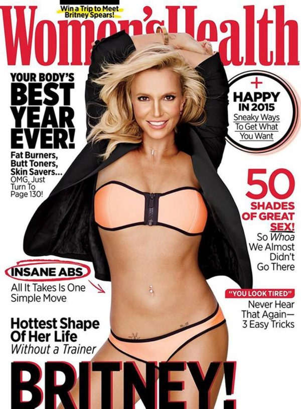 spears womens health thatgrapejuice 600x816 Did You Miss It?:  New Britney Spears & Iggy Azalea Song Confirmed As Singer Faces Fresh Claims Of Photoshop Fail