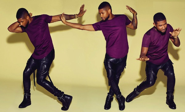 usher graham norton thatgrapejuice Watch: Usher Rocks Graham Norton With Good Kisser