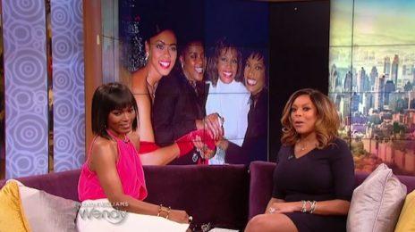Angela Bassett Visits 'Wendy' / Dishes On New 'Whitney' Biopic & Bobbi Kristina Backlash