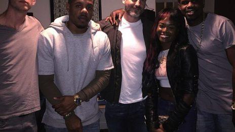 Hot Shot: Azealia Banks Hits Studio With Dr. Luke