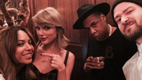 Taylor Swift Shares Selfie With Beyonce, Jay Z, & Justin Timberlake