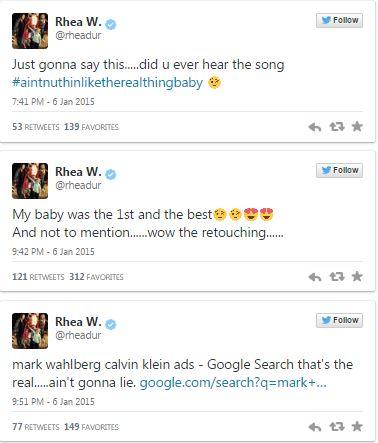 bieber-rhea wahlberg tweet