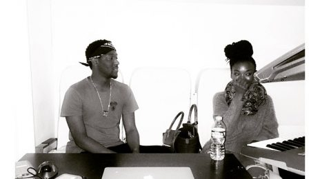 Hot Shot: Brandy Hits The Studio With Hit-Boy