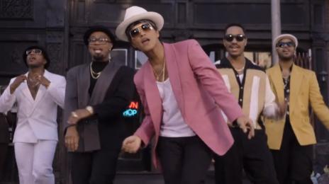 Bruno Mars Blasts To #1 On Billboard Hot 100 With 'Uptown Funk'
