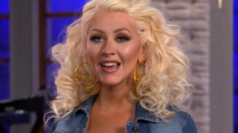 Christina Aguilera Spills On New Music With Pharrell, Motherhood, & More