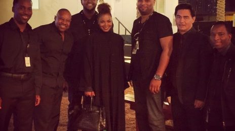 Hot Shots: Janet Jackson Surfaces In Dubai / Supports Brother's Show