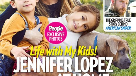 Jennifer Lopez Covers PEOPLE With Her 6-Year Old Twins