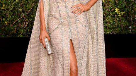 Slayage: Jennifer Lopez Sparkles On 'Golden Globes' Red Carpet