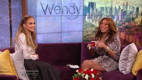 Jennifer Lopez Visits 'Wendy' / Spills All