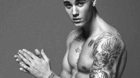 Justin Bieber Strips For New 'Calvin Klein' Ad