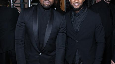 Usher & Kanye West Celebrated At 'BET Honors'