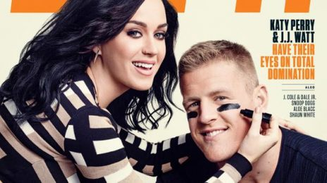 """Katy Perry Covers ESPN's """"Music"""" Issue"""