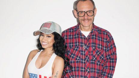 Nicki Minaj Rolls With Terry Richardson In New Promos