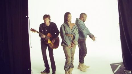 Behind The Scenes: Rihanna - 'FourFiveSeconds (ft. Kanye West & Paul McCartney)'