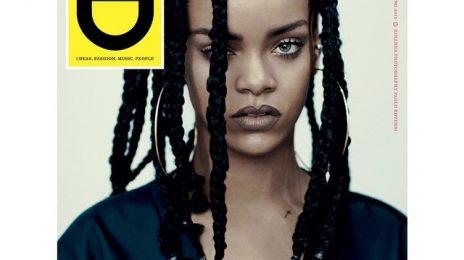 Hot Shot: Rihanna Covers i-D Magazine