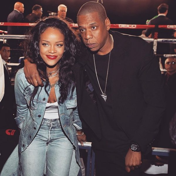 jay z and rihanna dating