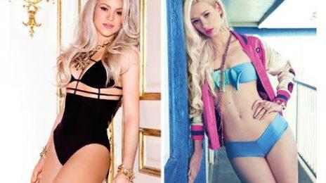 Report:  Shakira Lines Up Iggy Azalea Collab For New Album