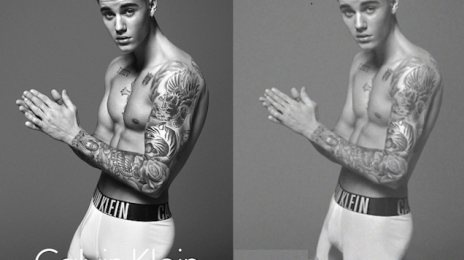 "Did You Miss It?:  Mark Wahlberg's Wife Slams Justin Bieber's ""Retouched"" Calvin Klein Ad"