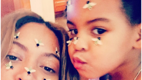 #Beyhive Love:  Beyonce & Blue Ivy Pose It Up On Instagram