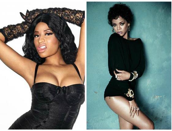 Rihanna-nicki minaj-thatgrapejuice