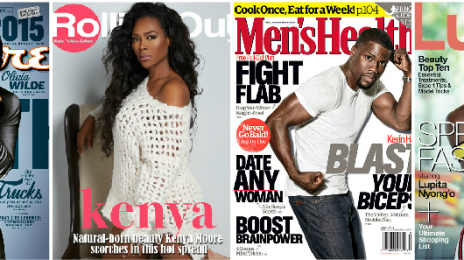 Cover Collection:  Kevin Hart, Will Smith, Michelle Williams, Kenya Moore, & Lupita Nyong'o Land Top Magazine Covers