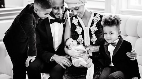 Hot Shot: Alicia Keys & Swizz Beatz Introduce Baby Genesis