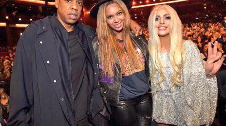 Hot Shot: Lady GaGa Reunites With Beyonce At Stevie Wonder Tribute