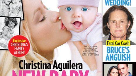 Hot Shots: Christina Aguilera Introduces Daughter Summer Rain