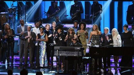 Performances:  'Songs in the Key of Life:  An All-Star Grammy Salute To Stevie Wonder' (featuring Lady Gaga, Beyonce, Ariana Grande)