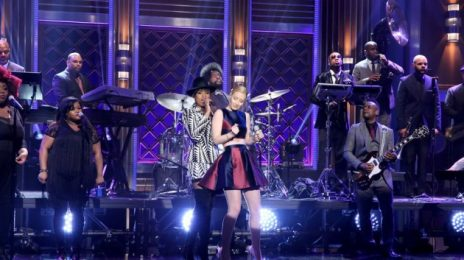 Did You Miss It?:  Jennifer Hudson & Iggy Azalea Rock 'Tonight Show' As 'Trouble' Video Premiere Nears