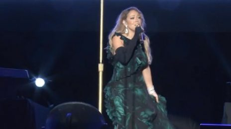 Mariah Carey Walks Off-Stage Mid-Song In Jamaica / Has Backing Track Malfunction