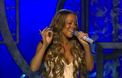 From The Vault: Mariah Carey Rocks 2006 Grammy's With 'We Belong Together / Fly Like A Bird'