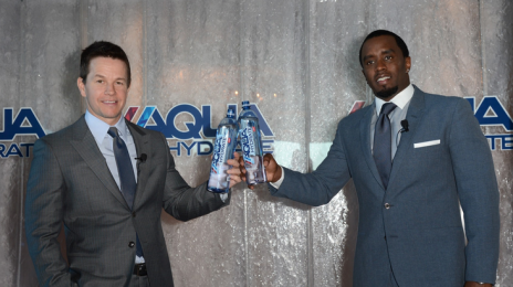 Diddy Goes Into Business With Mark Walhberg / Joins Actor To Push New Water Company
