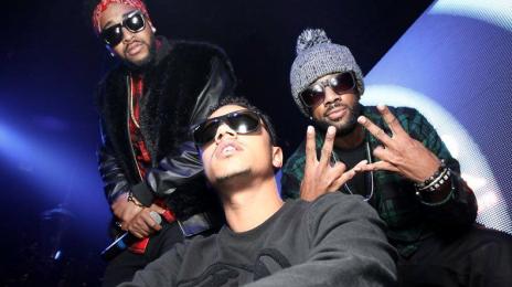 Hot Shot: Lil Fizz & Omarion Enjoy Grammy Weekend At Greystone Manor