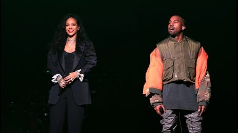 Watch: Rihanna Performs 'Diamonds' & More With Kanye West At DirecTV Super Bowl Concert